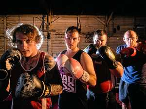 BRING IT ON: Zac, Ryan and Brendan Cotten and Jamie Masnfield are on the card for this weekend's fight night.