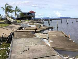 Boat ramp destroyed, anglers left with nowhere