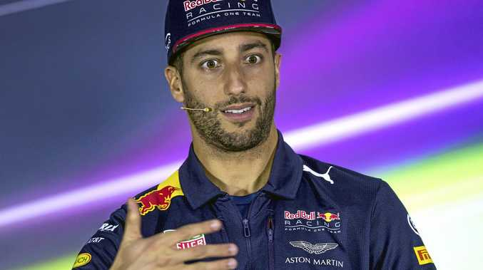 WHO ME?: Daniel Ricciardo says it's the Red Bull car and hot him that's to blame for the team's poor start to the season.