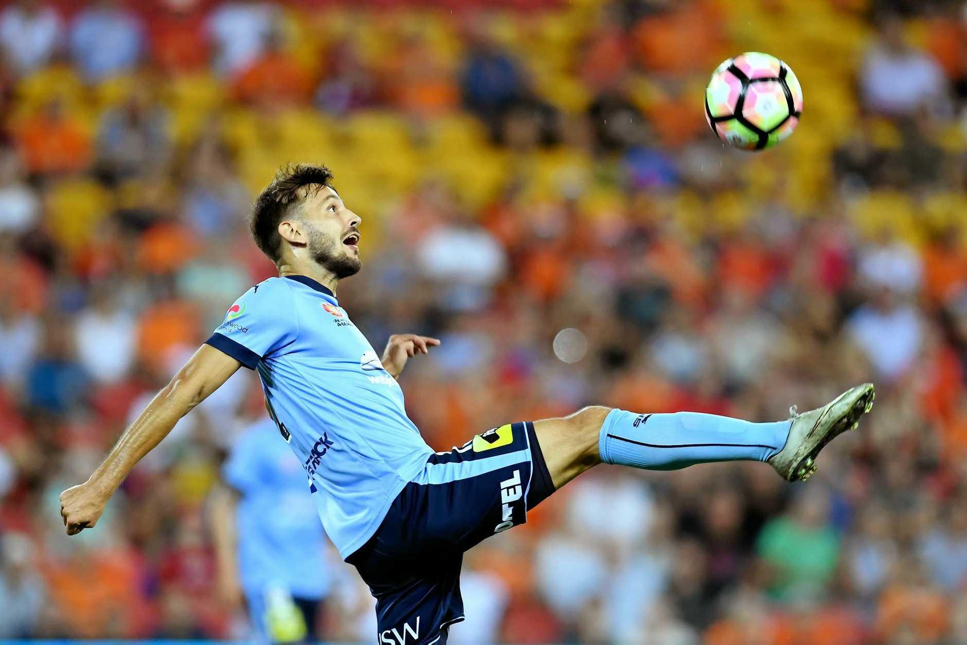 Milos Ninkovic of Sydney FC.
