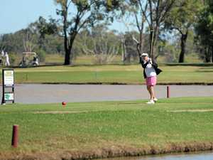 Heather Warner was among the 78 golfers on course for the ladies open championship at the Rockhampton Golf Club.