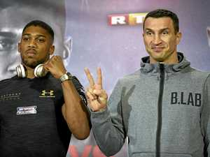 Calm before the Joshua-Klitschko heavyweight storm
