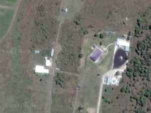 Bundy's backyard burnout pad you can see from space