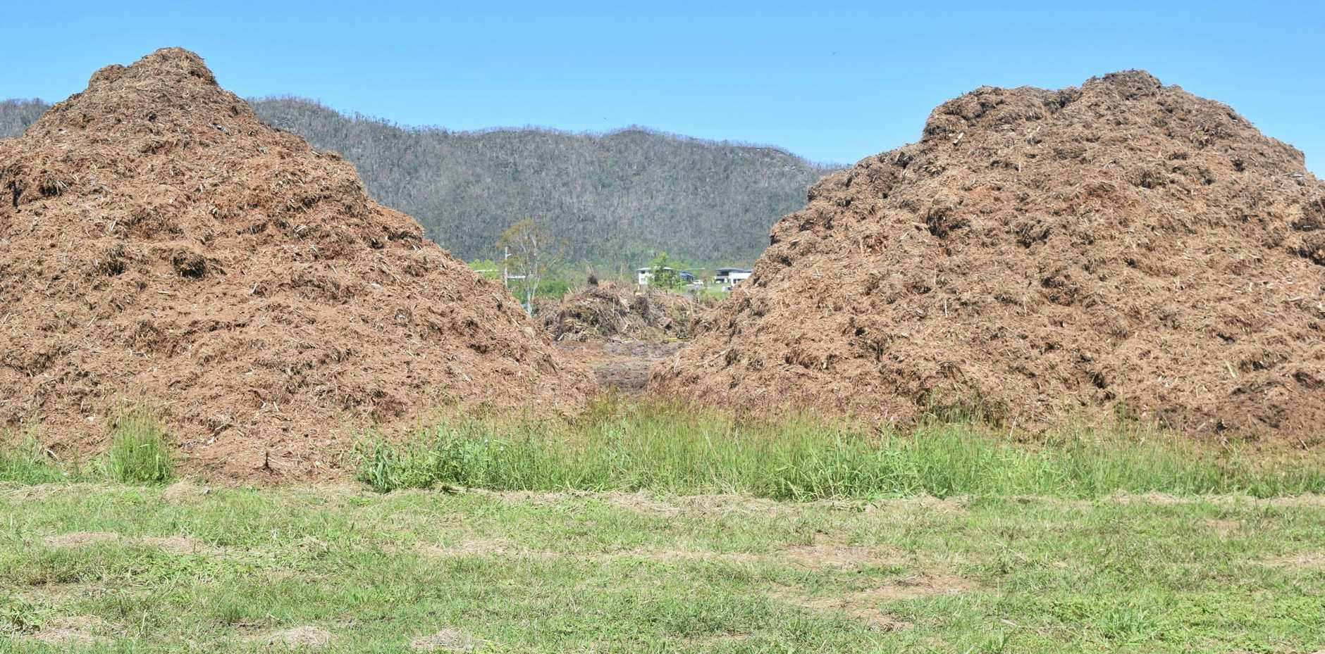 Free mulch is now available across the Whitsundays, including the site at Gailbrath Park Road.
