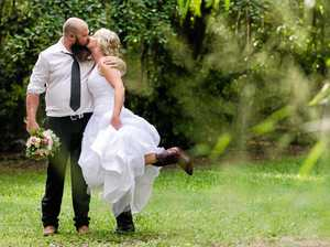 Say hello to the latest Coast couple to get hitched