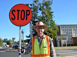 LOLLIPOP LOLLIPOP: Henry Downie is currently the only traffic supervisor at Chinchilla State School.