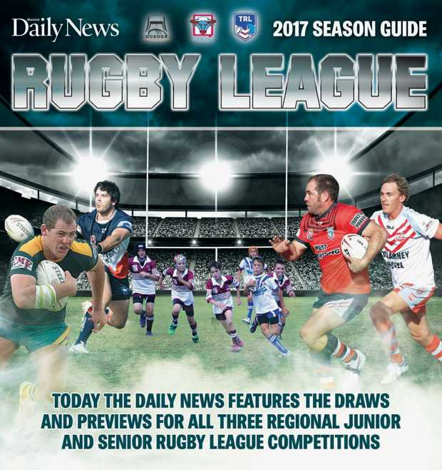 Daily Features Thursday June 8 2017: Saturday's Daily News Has Annual Rugby League Draw Lift