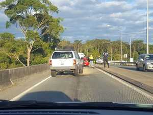 Serious Bruce Hwy overpass crash brings morning gridlock