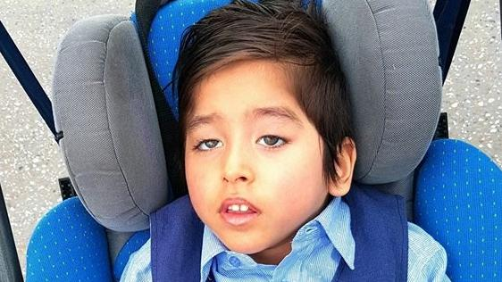 An Amber Alert has been issued for this missing boy.