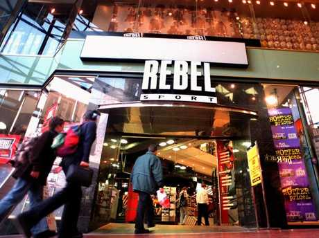 Rebel Sport has stepped up in recent years.