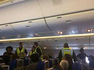 Man handcuffed and told to defecate in his seat on flight
