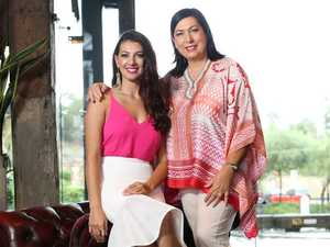 My Kitchen Rule's mother and daughter contestants Valerie and Courtney.