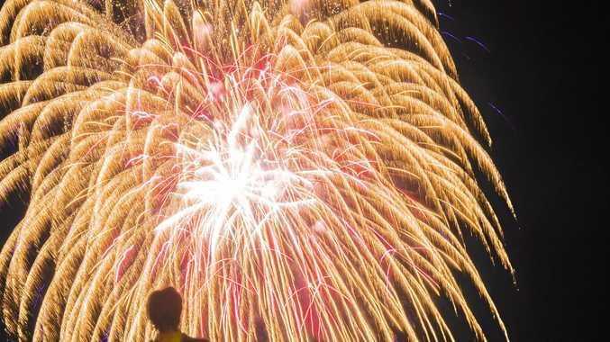 Boyne tannum hookup fireworks