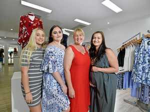 NEW BUSINESS: Briana Carlyon, Jess Smith, Melanie Carlyon and Narelle Jones at La Moda on Goondoon Street.