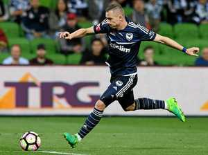 Besart Berisha of the Melbourne Victory.