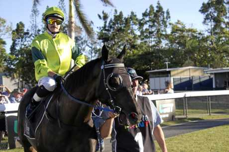 Jockey Ashley Butler rode Cleansing Ale to victory in race six.