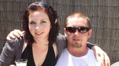Murder victim Philip Quayle with a friend.
