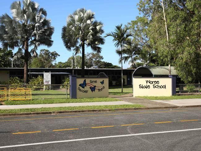 Woree State School was one of nine Queensland schools to receive bomb threat hoax calls in one morning last year.