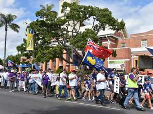 Labour Day March Maryborough 2017