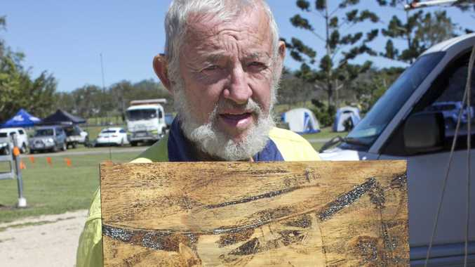 Doug Matthews took up pyrography to keep himself occupied after many close people in his life passed away.