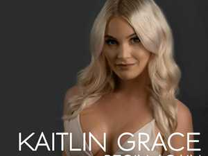 Cover art for Kaitlin Grace's debut single, Begin Again, which is now available on Amazon, iTunes and Google Play Music.