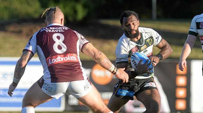 RICH REWARD: Second on the Intrust Super Cup's try scoring ladder, Ipswich Jets winger Richard Pandia has been called up to join the 18-man PNG Kumuls squad.