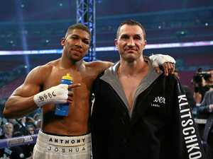 Joshua king of heavyweights after defeating Klitschko