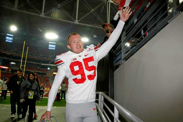 Punter Cameron Johnston has been a star for the Ohio State Buckeyes.