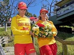 Coast lifesavers pause to honour surf victim