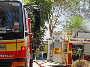 Firies stop vehicle fire from wreaking havoc