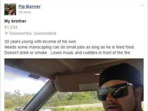 Toowoomba woman tries to sell brother on Facebook