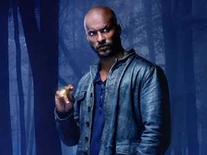 Ricky Whittle in a scene from the TV series American Gods.