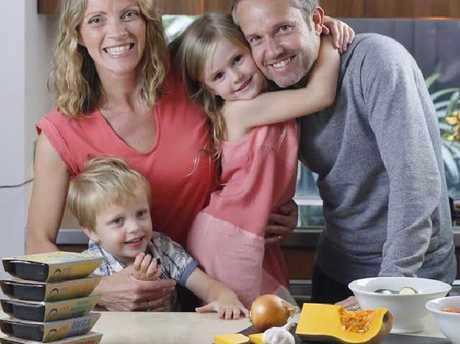 Rachel and husband Phil are feeding their kids delicious, healthy meals and basking in business success.