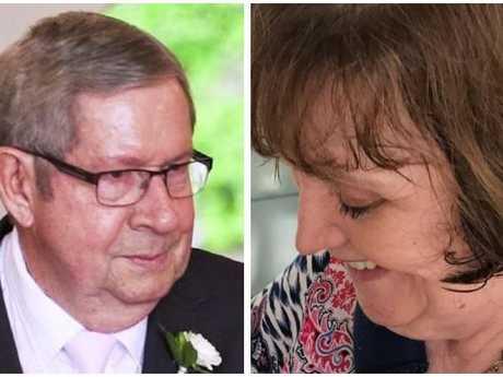 Murder accused Brian Kenny, 68 and victim Mauryeen Kenny, 69