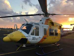 UPDATE: Airlifted baby boy in stable condition in burns unit