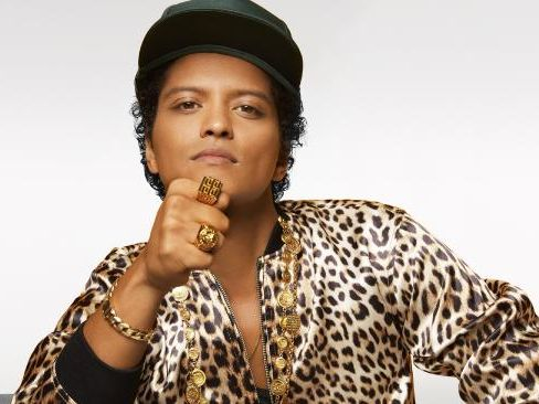 Singer Bruno Mars will be coming to Australia in 2018.