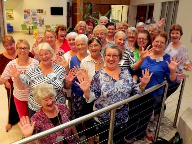 CHEERIO: Hervey Bay's Soundwaves is one of 15 choruses in Australia, chosen to perform at the iconic Sweet Adelines competition in Perth this month.