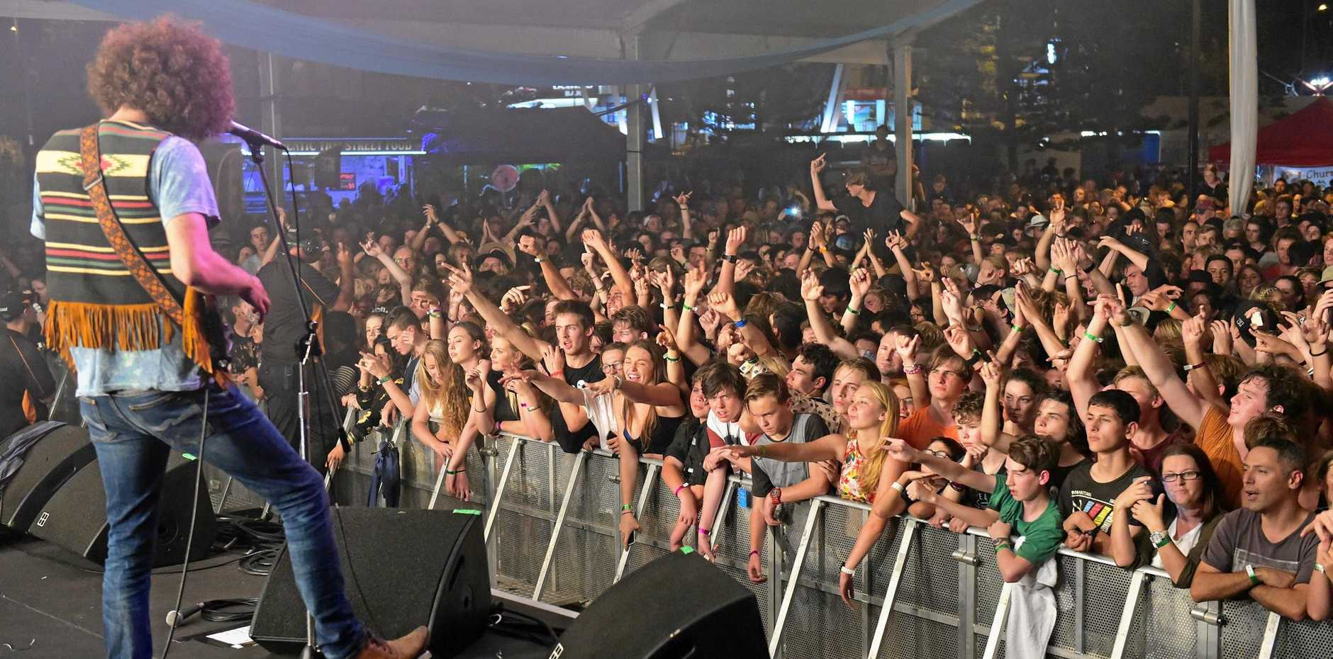 Wolfmother plays the Coolangatta Hotel on Saturday night.