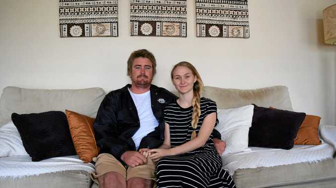 CHASING A CURE: Jaden Bennett and Ellie-Rose Alford head to Cyprus so Ellie-Rose can receive treatment for Lyme disease.