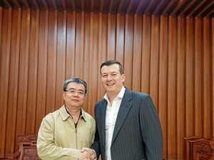 Mackey leads way in China