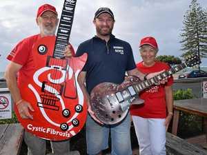 Cystic Fibrosis Bluesfest guitar winner