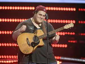 Judah turns all four chairs on The Voice