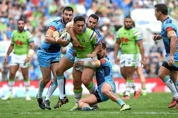 Raiders player Josh Papalii has been banned for one game.