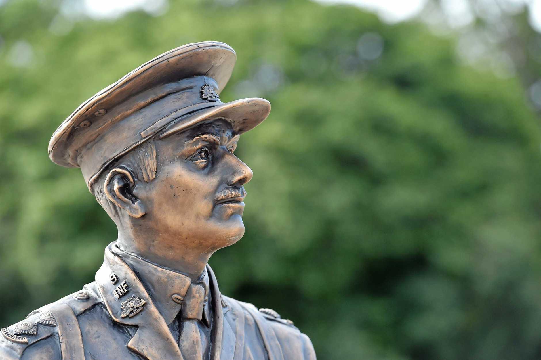 Duncan Chapman statue in Maryborough. Photo: Alistair Brightman / Fraser Coast Chronicle