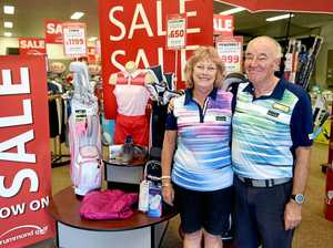 CLOSING DOWN: Clearance sale as sports shop closes down