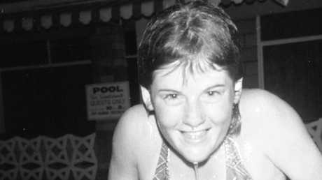 Mary-Rose MacColl has always been a keen swimmer.