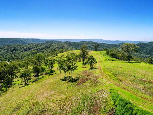 NEW LAND: The first new residential land made available on the Toowoomba Range is already being sold, with construction started on the infrastructure.