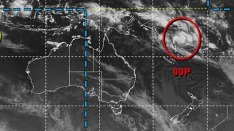 GOOD CHANCE: A weather system near Fiji is likely to develop into a tropical cyclone in the next 24 hours. The US-military run JTWC classifies the likelihood of a cyclone developing as either