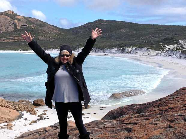 GREY NOMADS: Betty Quinn fell in love with West Australia's dramatic and pristine coastline.