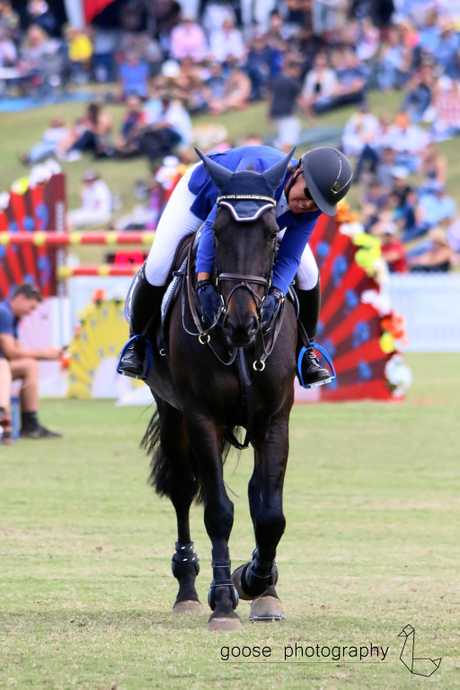 Becky Jenkins and RSB Jacana at the Aquis Gold Cup.Goose Photography.